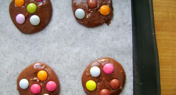preparazione biscotti con gli smarties step 9