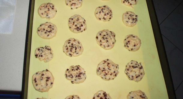 Preparazione dei biscotti con lievito madre: step 4