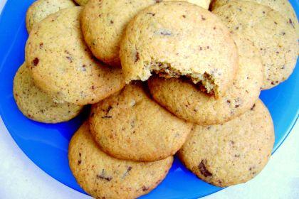 cookies con scaglie di cioccolato