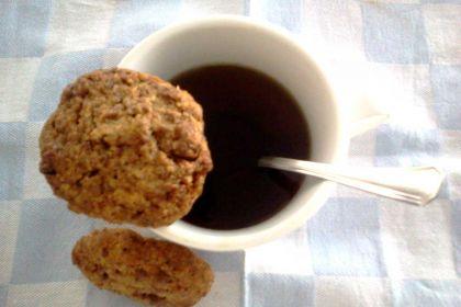 Biscotti con palline di cereali
