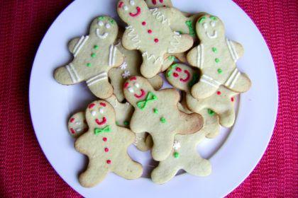 biscotti decorati pan di zenzero