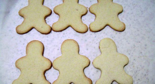 preparazione dei biscotti al pan di zenzero step 5