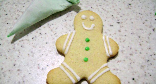 biscotto pan di zenzero decorato