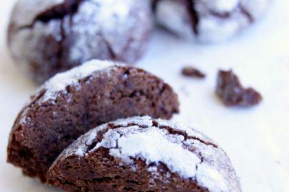 Biscotti senza glutine al cioccolato e grappa