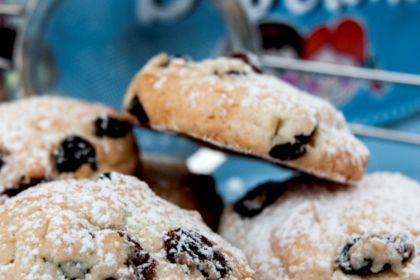 biscotti senza glutine uvetta e mandorle