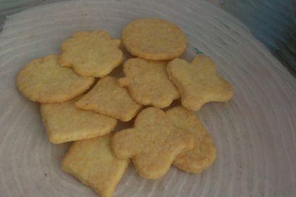 biscotti di farina di mais senza uova