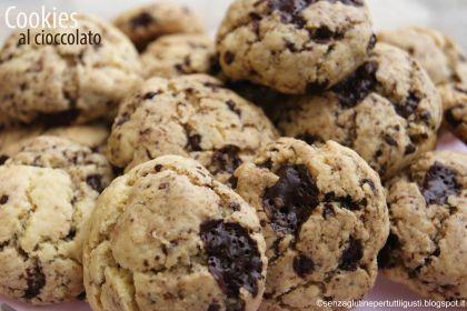 cookies al cioccolato senza glutine