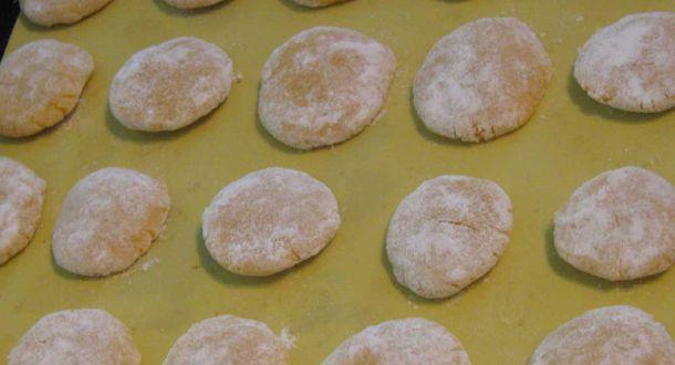 biscottini nella teglia