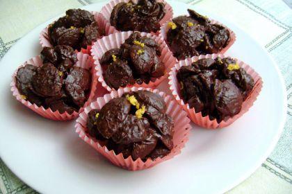 croccantini cioccolato e uvetta