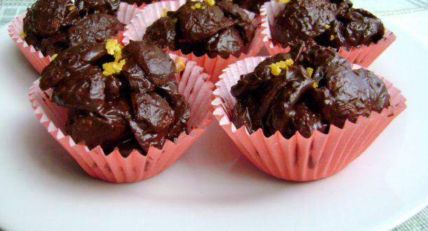 croccantini cioccolato e uvetta pronti