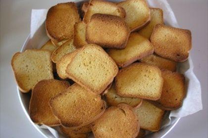 Fette biscottate senza zucchero