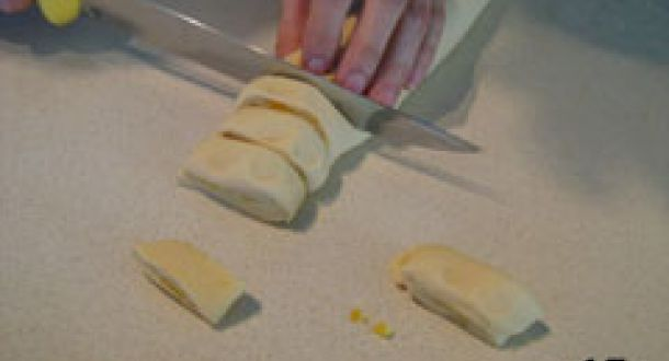 preparazione arancini o limoncini delle Marche step 15