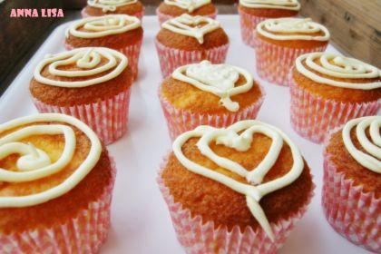 Cupcakes al limone senza glutine