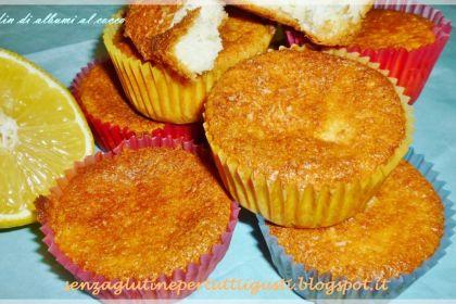 Tortine cocco e limone senza glutine