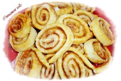 Cinnamon rolls spirali alla cannella senza glutine