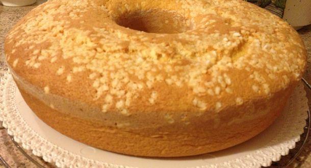 chiffon cake pronta