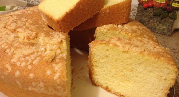 chiffon cake a fette