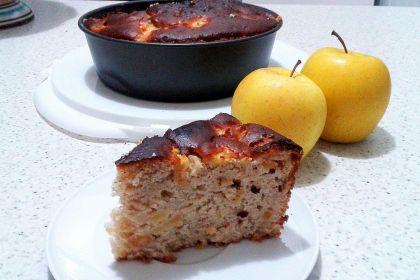 torta alle mele e philadelphia alla cannella
