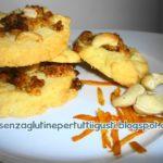 Biscotti con anacardi e marmellata di arance senza glutine