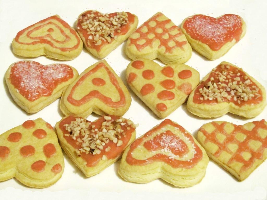 cuori di frolla san valentino