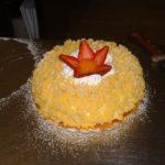 Torta mimosa del maestro Garbini