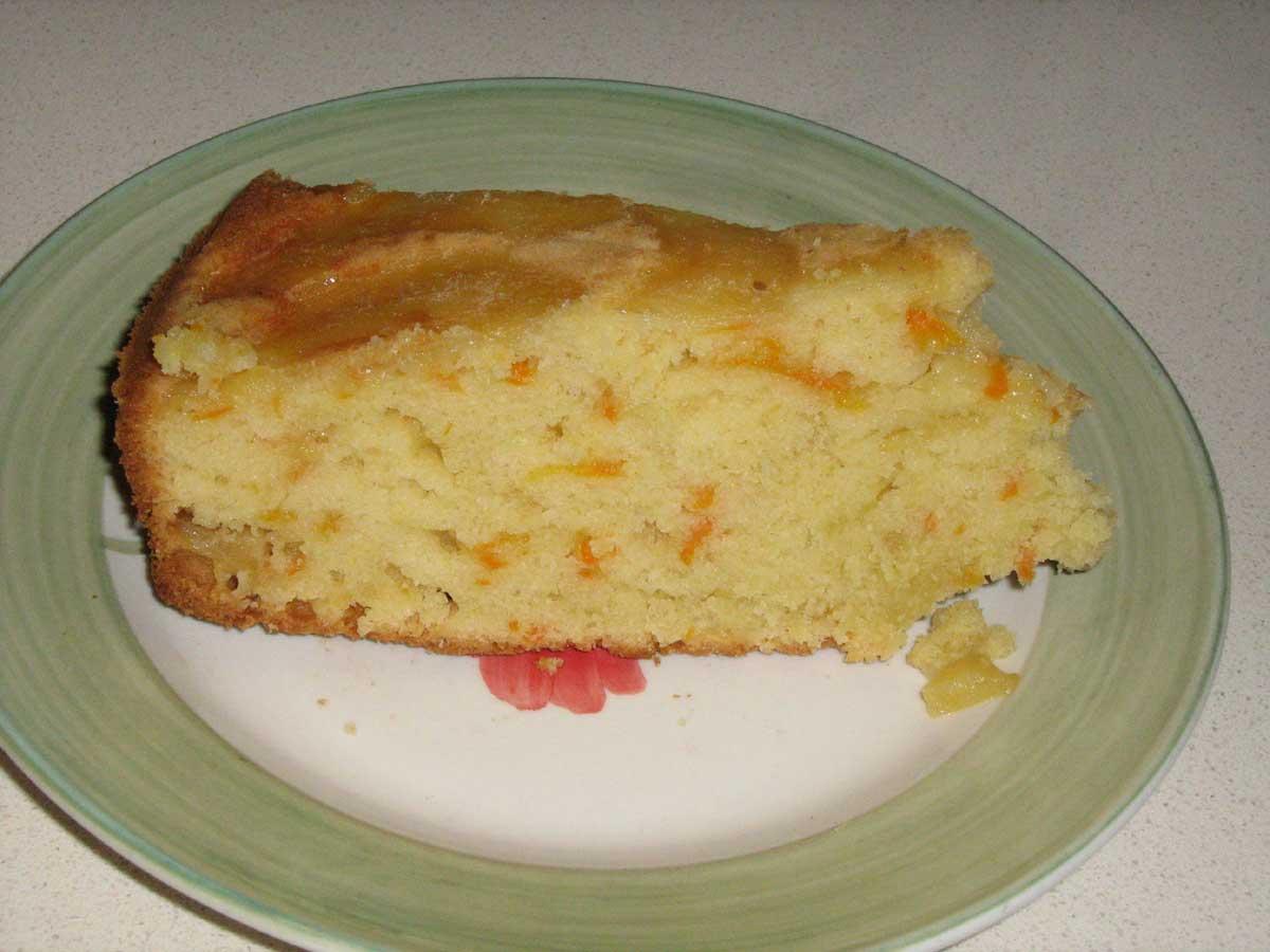 torta ipocalorica con pere