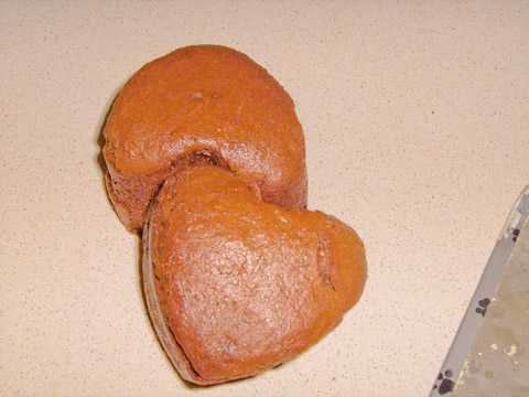muffin ricicla cioccolato delle uova di pasqua
