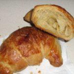 croissant con lievito madre
