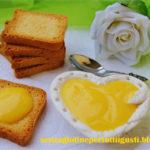 Lemon curd vegetale e senza glutine
