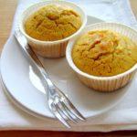 muffin alla zucca con zenzero e cannella