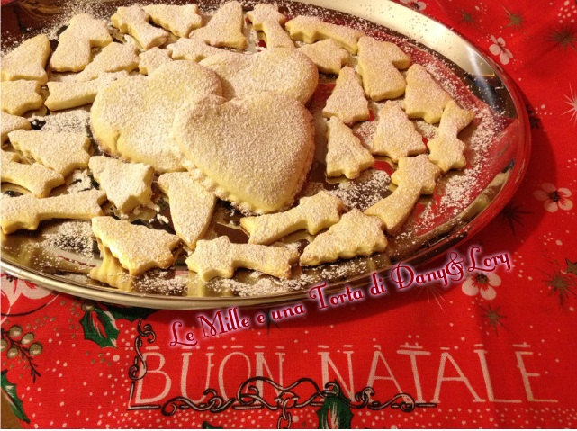 biscotti natalizi ripieni di Nutella