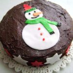 Torta pupazzo di neve