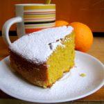 Torta di carote e mandorle all'arancia