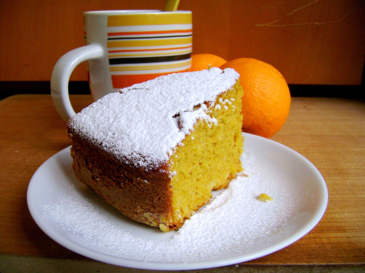 torta di carote e mandorle allarancia