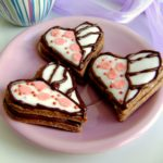 Biscotti decorati per festeggiare San Valentino