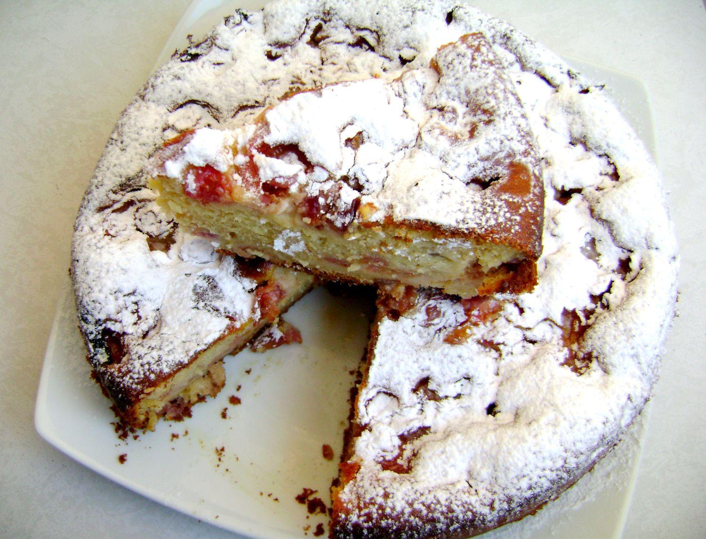 ricetta torta di ciliegie allo yogurt