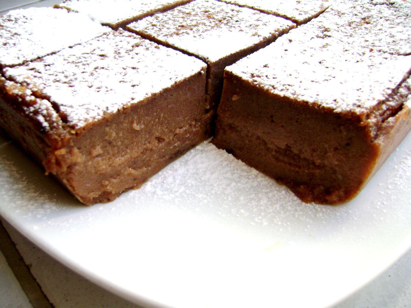 Amato torta budino ai biscotti e cioccolato · Dolci.it ricette  JA14
