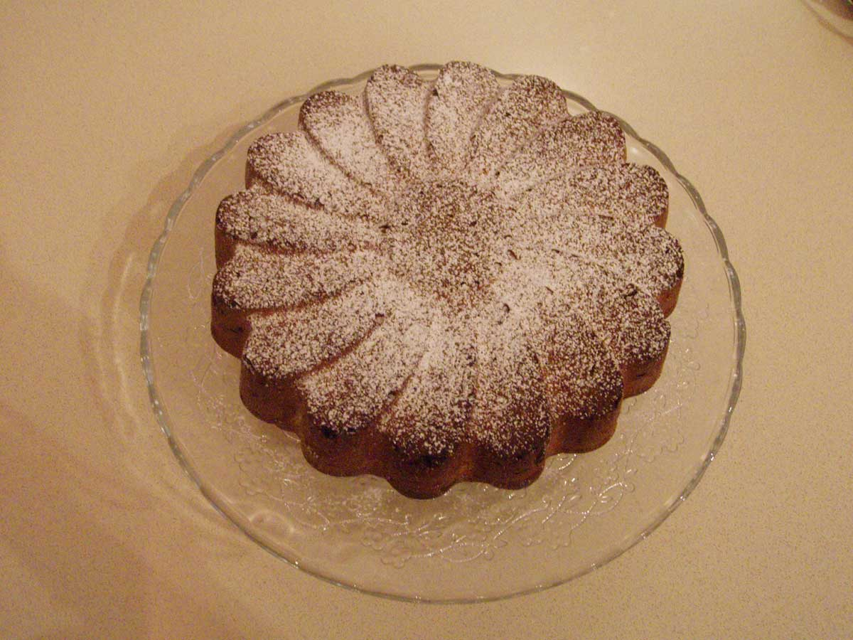 ricetta torta yogurt e cioccolato