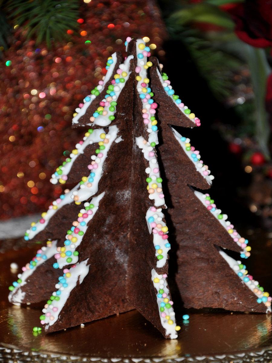 albero di Natale di biscotto 2