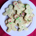Gingerbread cookies di natale