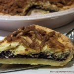 Crostata di pinoli senza glutine con crema al cioccolato