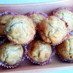 Muffin alle mele e cannella con farina integrale