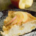 Torta di mele con soli albumi senza glutine