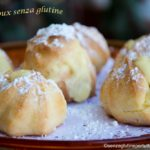 pasta choux senza glutine con kenwood cooking chef