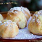 Pasta choux senza glutine con kenwood cooking chef