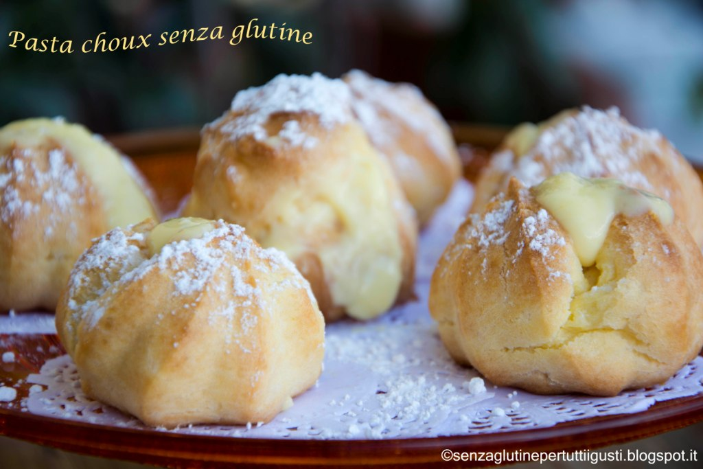 pasta choux senza glutine con kenwood cooking chef · Dolci.it ...