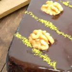 Brownies con copertura morbida al fondente