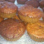 Muffin carote e uvetta
