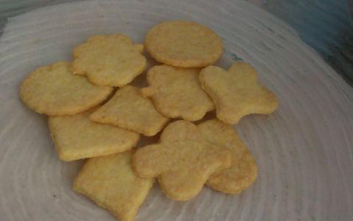 ricetta dei biscotti di farina di mais senza uova