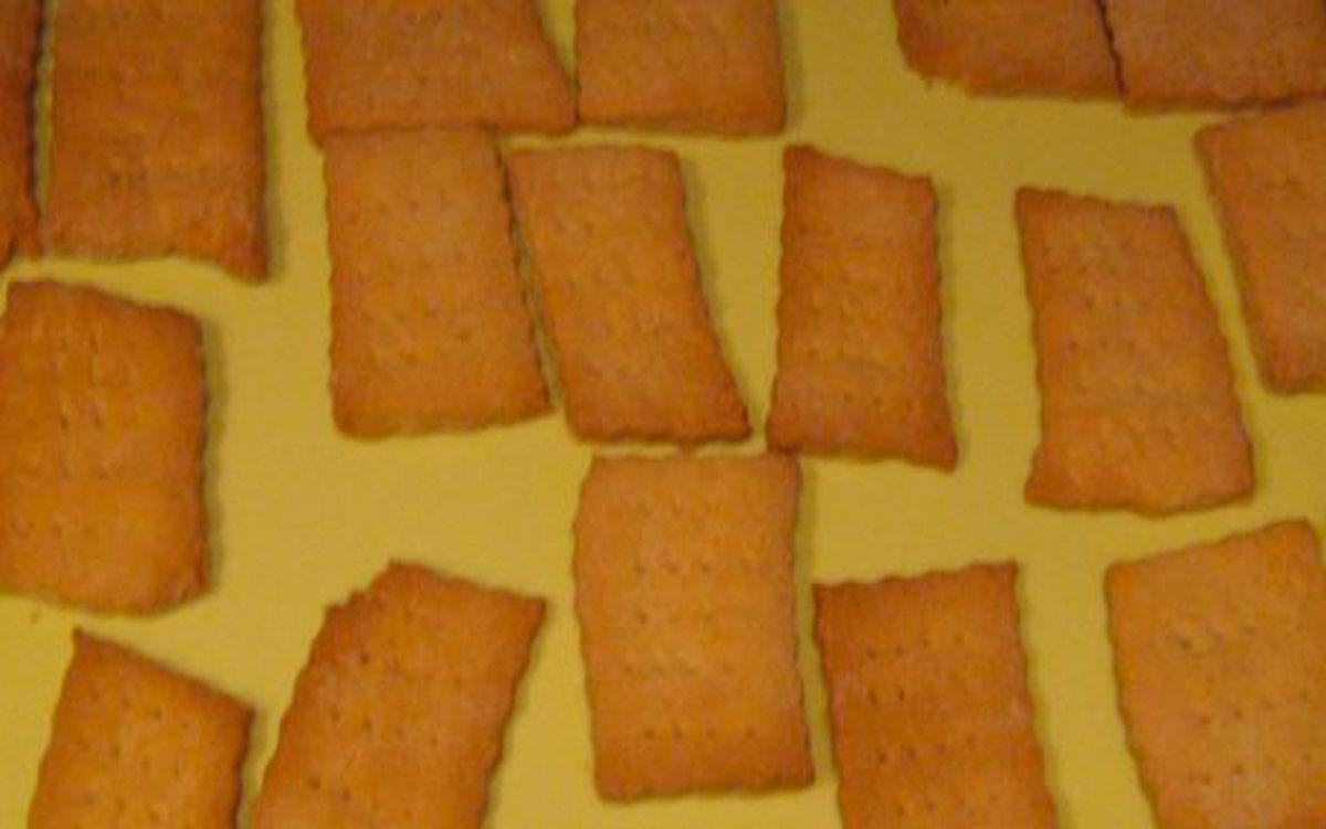 ricetta dei biscotti secchi senza uova